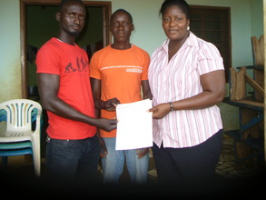 An ex-child slave handed over to a mastercraftman