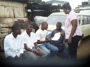 2 ex-child slaves handed over to a mastercraftman