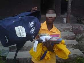 Ex-child slave now in Primary School