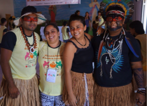 Indigenous youth representing Ceara at conference