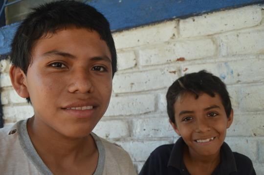 Kids from Ojochal