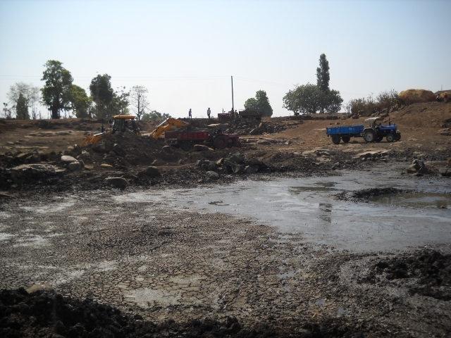Slush & Mud Removed Post Intervention