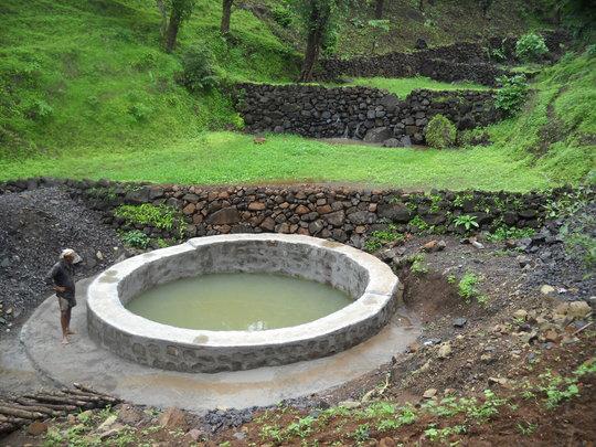 New Karanjpana Well - Monsoon 2013