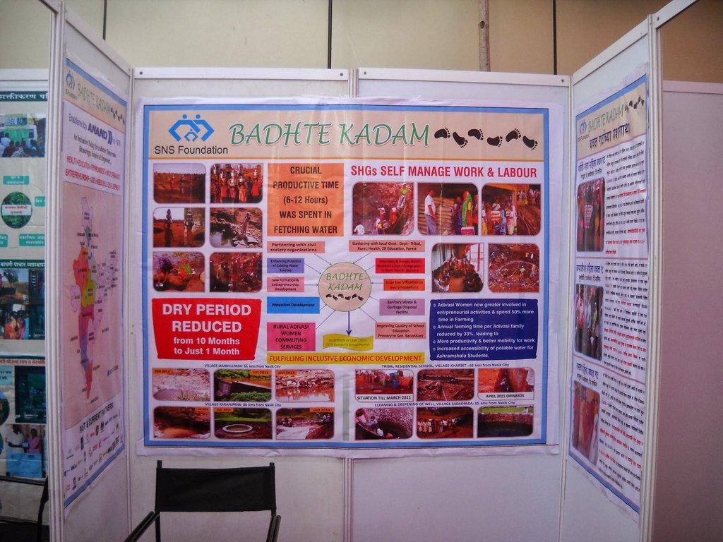 SNSF Kiosk in MRLIF event, Mumbai