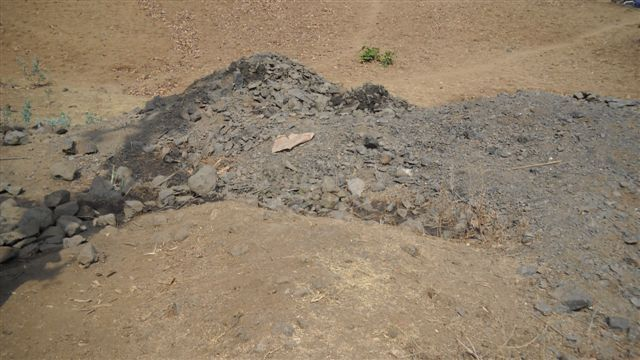 Debris of the Blasting Process