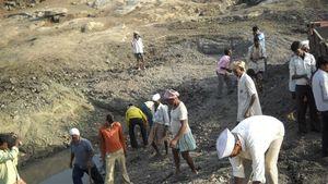 Villagers Labour Contribution