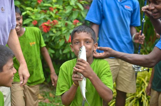 Empower Sri Lankan Youth at Vocational Fish Farm