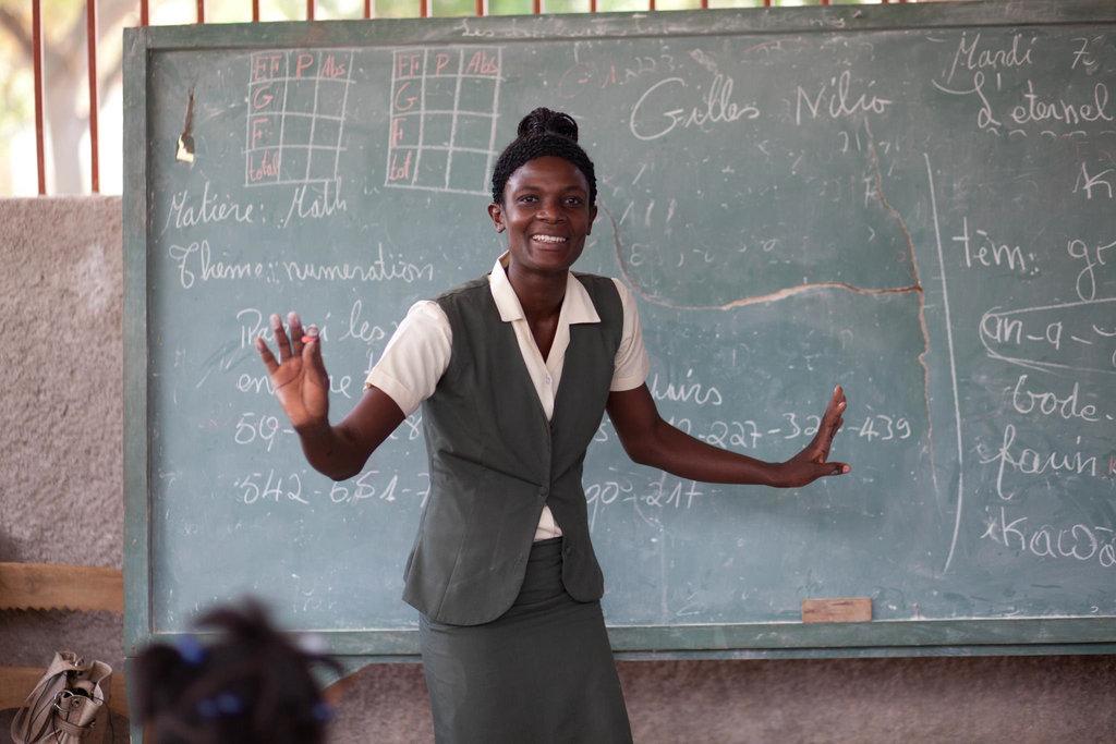 Dilaine Gilles, an Accelerated Education teacher