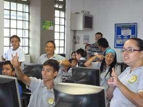 Happy students!