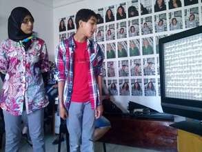 Youth participants presentation in Morocco
