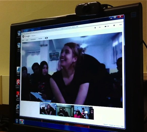 Video Conference Morocco/USA