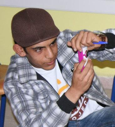 Mohamed filming