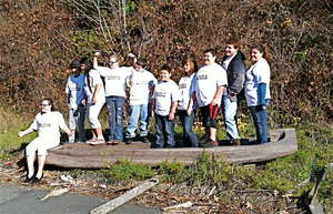 Group photo, Klamath, California