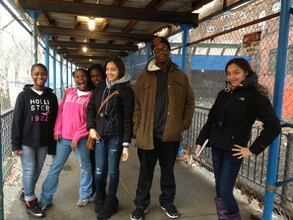 DP students in the Bronx, NY