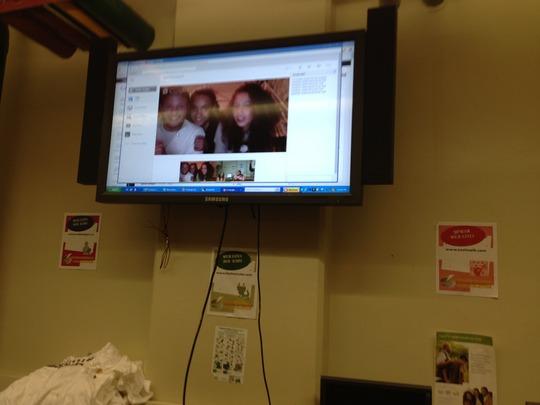 Casablanca and the Bronx videoconferencing