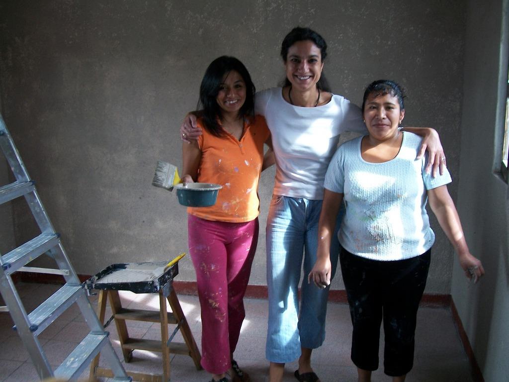 Lysette, Debora and Marisol