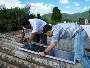 Solar install at new Kindergarten