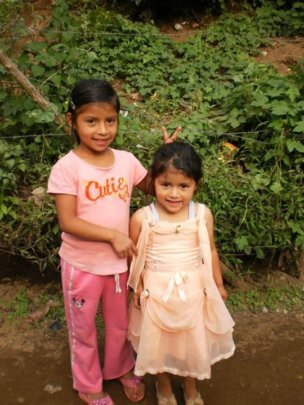 Fatima and her sister 2012