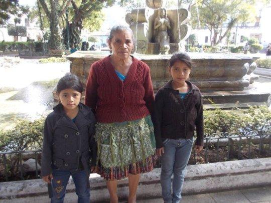 Fatima with Grandma 2015
