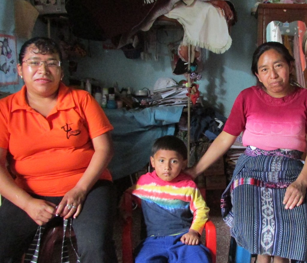 Marisol (left), Byron (middle), Dona Ana (right)