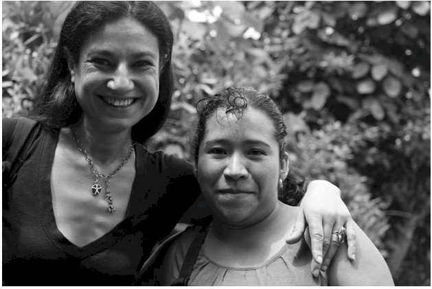 Marisol with Debora, Co-Founder IHF