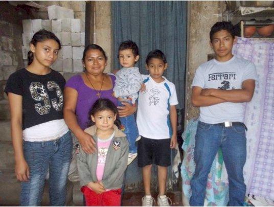 Visiting Alvaro and his siblings.