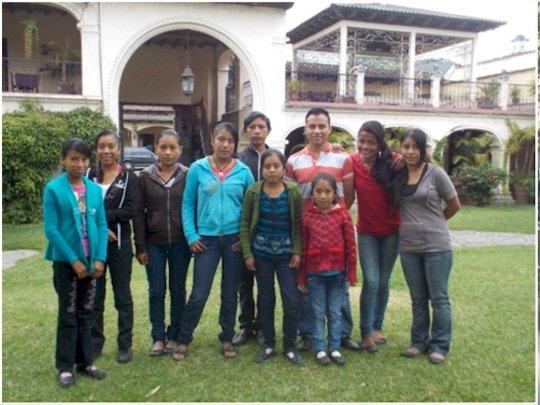 Juan Carlos and his weekend study group
