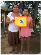 Keyla with her mom Dona Consuelo