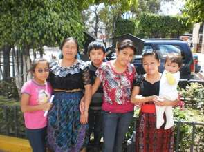 From the San Andres sponsorsed families