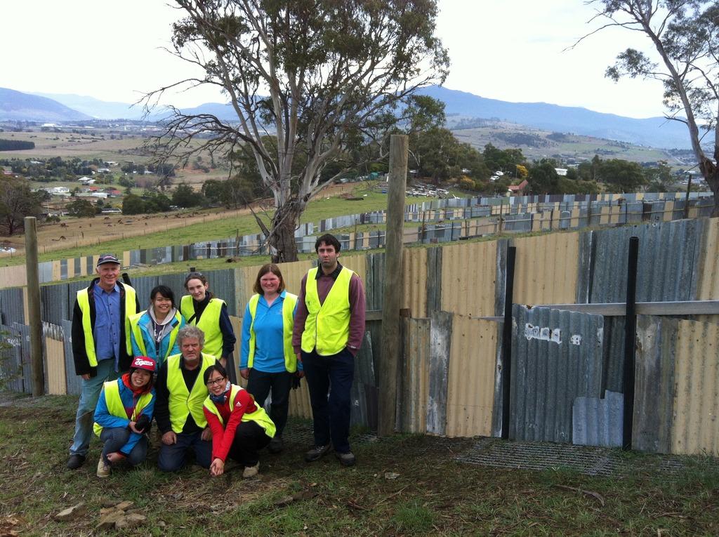 Our dedicated volunteer team!