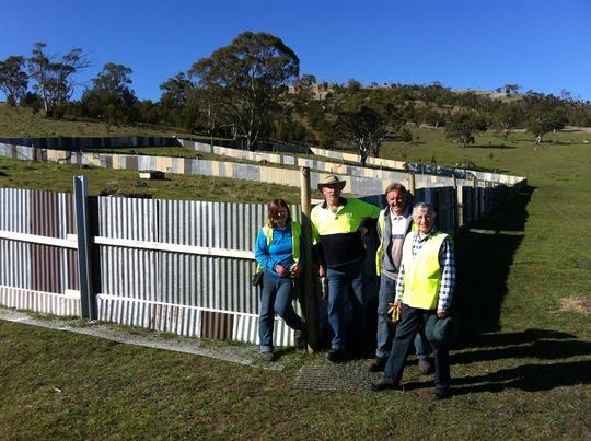 Retirement Village - fence complete!