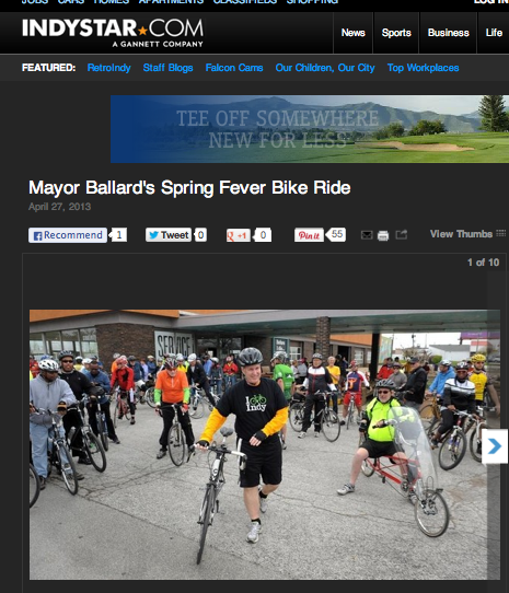 bike ride coverage