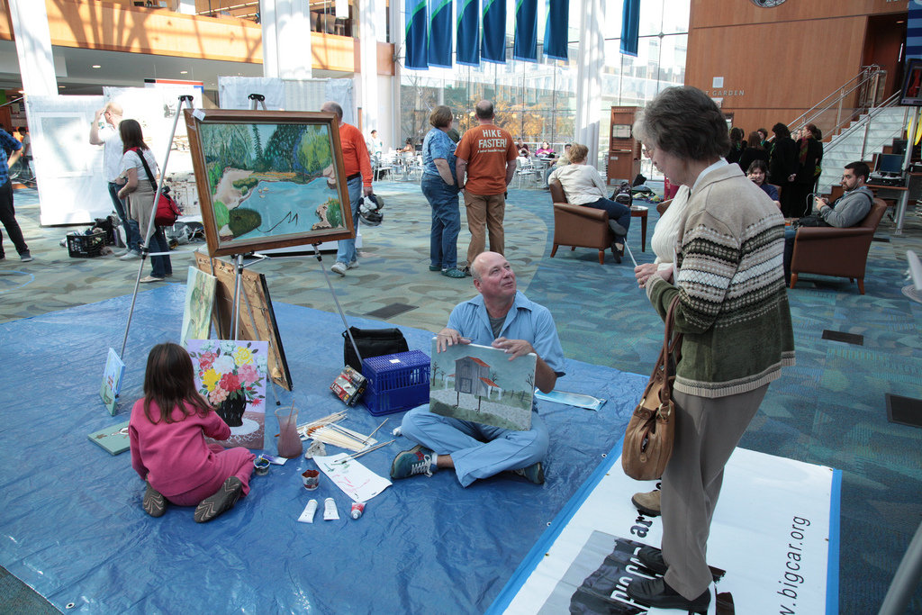 Engaging Kids & Adults in Art in Public Places