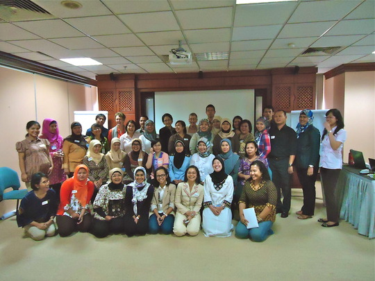 Participants at the 1-day workshop