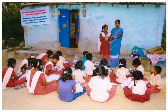 CARE FOR 150 CHILDREN OF QUARRYWORKERS, TAMILNADU