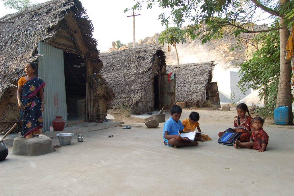 CARE FOR 150 CHILDREN OF QUARRYWORKERS, TAMILNADU
