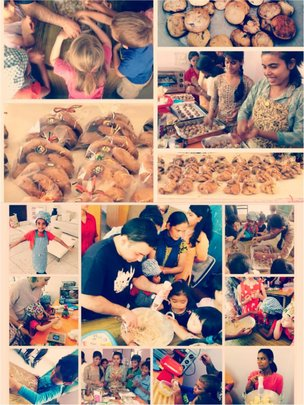 Bakery sale by Special needs youngsters