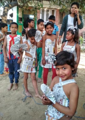 Children performance on annual day