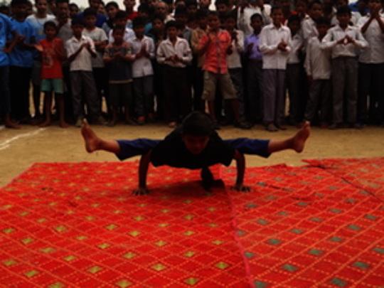 Babli performance at School.JPG