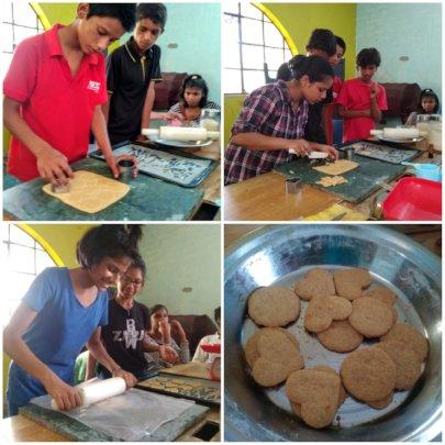 Learning baking skill