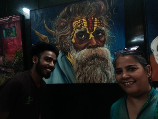 Deepak at his Graduation Art Exhibition jpg.jpg