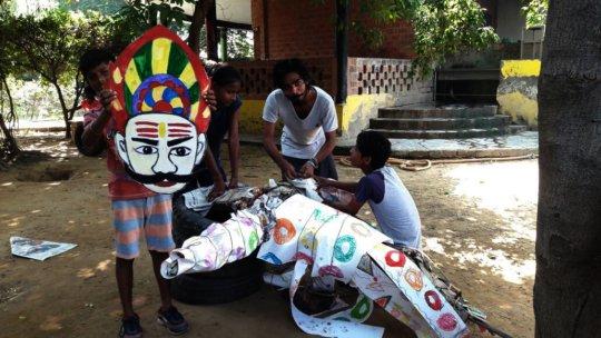 Making effigies for Festival of Dushehra.jpg