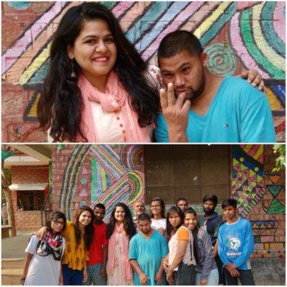 Oshin Dhawan, Raju & other Student