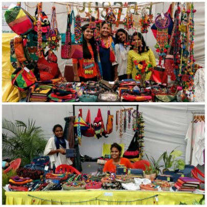 Showcasing Jugaad product at different Exhibition