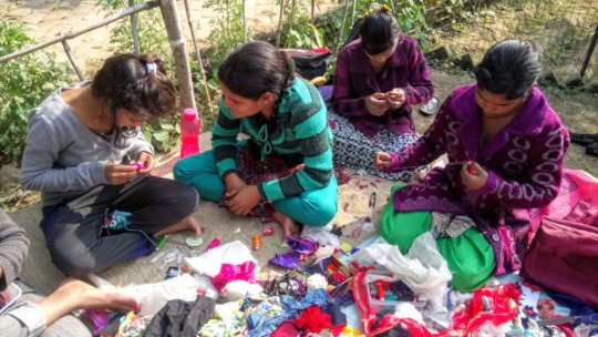 Skill sharing at Jugaad