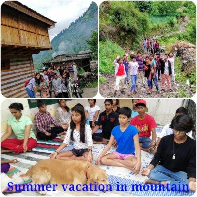 Summer Vacation at Mountain