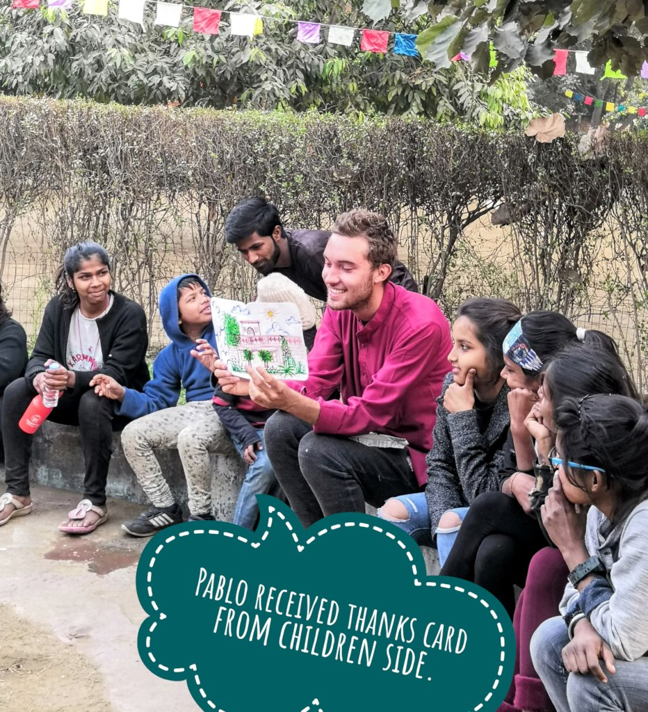Reports on Support a home for disadvantaged children in India