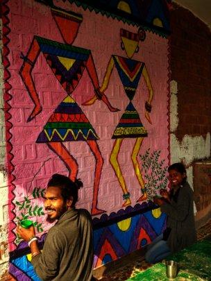 Wall art by Alumni Deepak and other kids.jpg