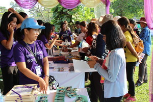 Sharing information about WRC to even MORE women!