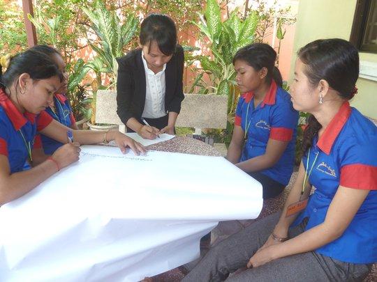 Ratana's Health Workshop - small group activity